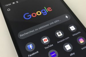 Mode sombre Chrome sur Android